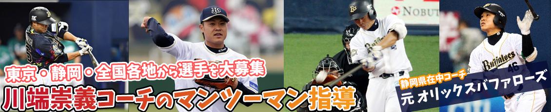 静岡県でバッティング個人指導・野球個人レッスン