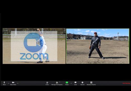 オンラインレッスンでバッティングフォームやピッチングフォームの改善も!個人レッスン・野球個人指導・野球家庭教師